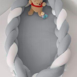 ΦΩΛΙΑ ΥΠΝΟΥ ΜΕ ΑΠΟΣΠΩΜΕΝΗ ΠΛΕΞΟΥΔΑ 16X200 BABY OLIVER DES 150 ΓΚΡΙ