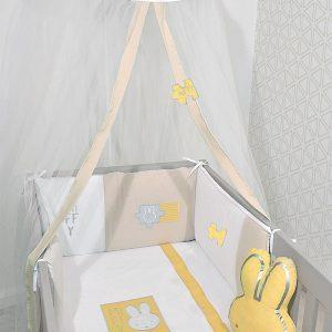 ΣΕΤ ΠΡΟΙΚΑΣ ΜΩΡΟΥ (3 ΤΕΜ) BABY OLIVER MIFFY DES 64 ΜΟΥΣΕΛΙΝΑ ΜΠΕΖ