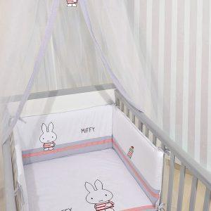 ΣΕΤ ΠΡΟΙΚΑΣ ΜΩΡΟΥ (3 ΤΕΜ) BABY OLIVER MIFFY DES 65 ΜΟΥΣΕΛΙΝΑ ΓΚΡΙ